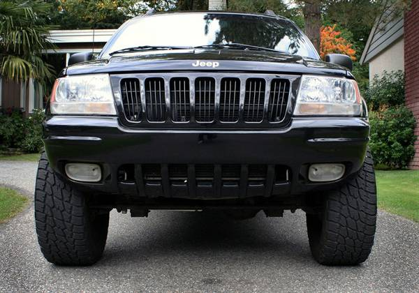 for sale 99 Jeep Grand Cherokee black