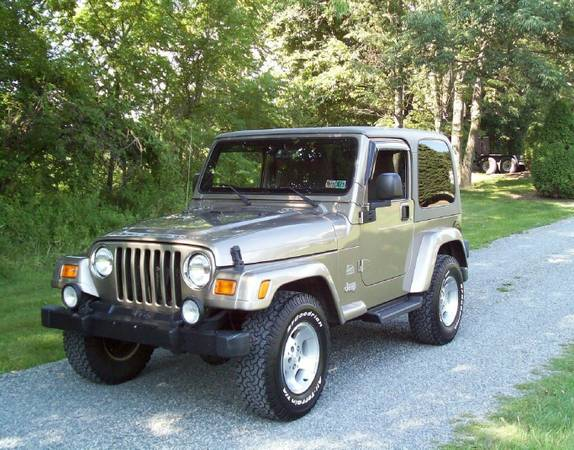 ImpecableCond2003 Jeep Wrangler Sahara 4x4ShinnY