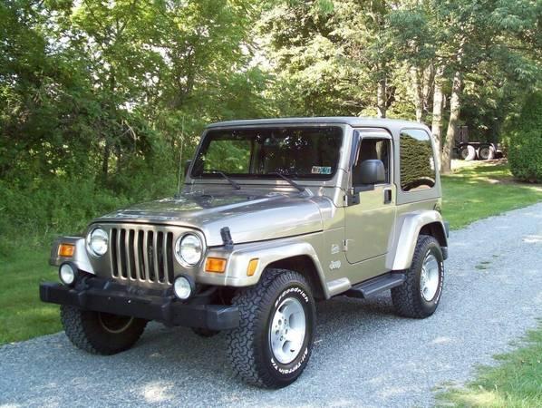 LiKEaCharM2003 Jeep Wrangler Sahara 4x4