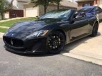 2013 Maserati GranTurismo Sport 2dr Convertible