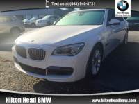 2014 BMW 750Li Sedan 750Li Sedan Rear-wheel Drive