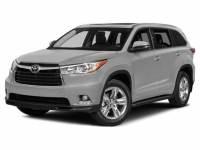 2015 Toyota Highlander XLE V6 Navigation, Sunroof & Leather SUV Front-wheel Drive 4-door