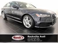 Certified Used 2017 Audi A6 2.0T Sedan in Rockville, MD