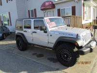 2012 Jeep Wrangler Unlimited 4x4 Rubicon 4dr SUV