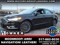 2017 Ford Fusion AWD SE 4dr Sedan