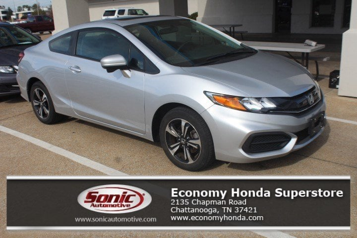 2015 Honda Civic EX 2dr CVT in Chattanooga