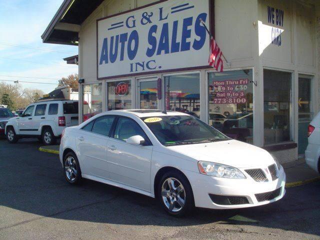2010 Pontiac G6 4dr Sedan w/1SA