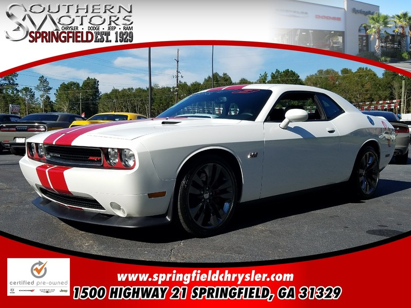 CERTIFIED PRE-OWNED 2014 DODGE CHALLENGER SRT8 RWD 2D COUPE
