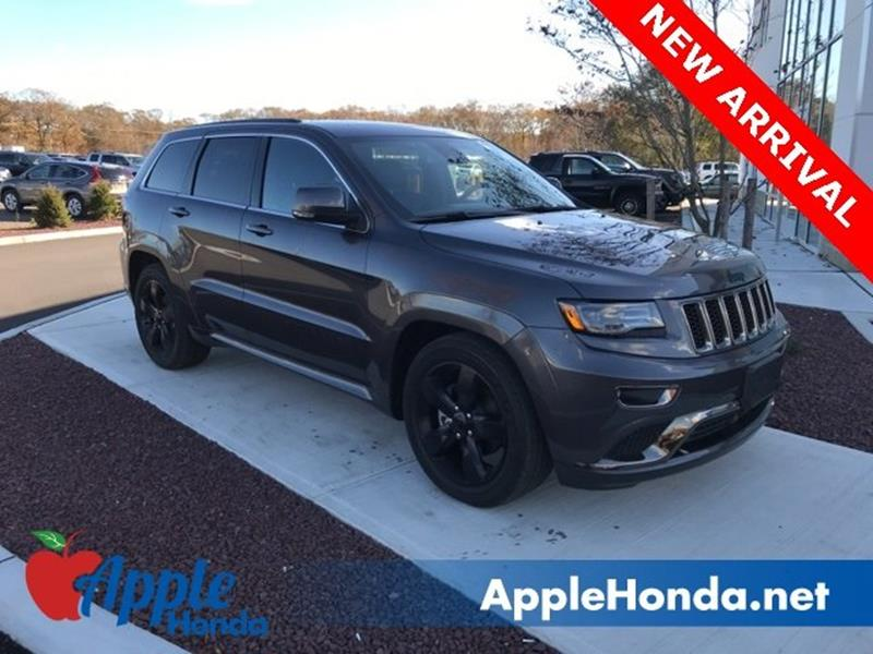 2015 Jeep Grand Cherokee 4x4 High Altitude 4dr SUV