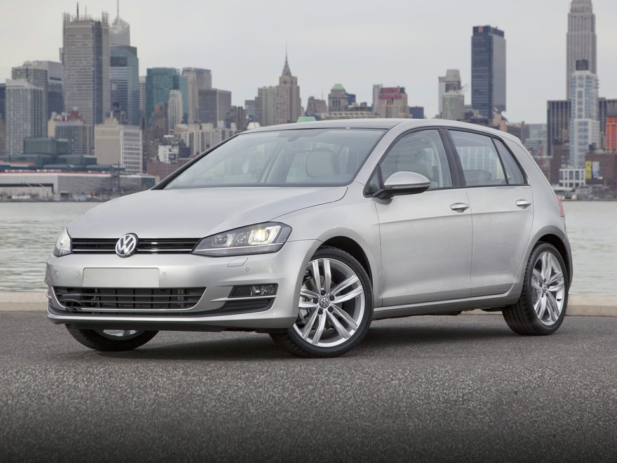Used 2015 Volkswagen Golf TDI S 4-Door Hatchback I4 TDI Diesel Turbocharged DOHC 16V ULEV II 150hp in Miamisburg, OH