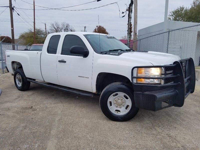 2011 Chevrolet Silverado 2500HD 4x4 Work Truck 4dr Extended Cab LB