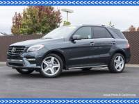 Certified Pre-Owned 2015 Mercedes-Benz M-Class ML 400 AWD 4MATIC®