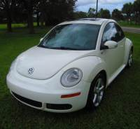 2008 Volkswagen New Beetle Triple White 2dr Coupe