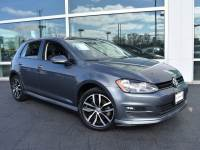 Certified Pre-Owned 2015 Volkswagen Golf TSI SE 4-Door with leather and moonroof FWD Hatchback