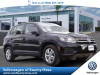 2014 Volkswagen Tiguan S SUV Front Wheel Drive