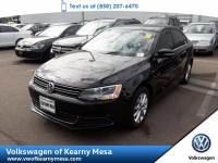 2014 Volkswagen Jetta Sedan SE w/Connectivity/Sunroof Pzev Sedan Front Wheel Drive
