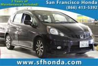 2013 Honda Fit Sport Hatchback at San Francisco, Bay Area Used Vehicle Dealer