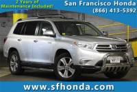 2013 Toyota Highlander 4WD Limited V6 SUV at San Francisco, Bay Area Used Vehicle Dealer