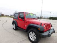 2009 Jeep Wrangler 4x4 X 2dr SUV w/ Front Side Airbags