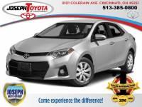 2014 Toyota Corolla Sedan Front-wheel Drive