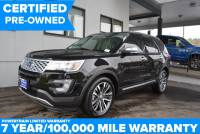Certified Pre-Owned 2016 Ford Explorer Platinum AWD