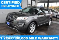 Certified Pre-Owned 2017 Ford Explorer XLT AWD