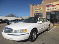 2002 Lincoln Continental 4dr Sedan