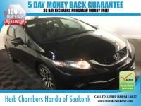 Certified Used 2014 Honda Civic 1.8 EX-L Sedan in Seekonk, MA