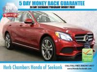 Used 2016 Mercedes-Benz C-Class C300 4MATIC Sport Sedan in Seekonk, MA