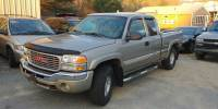 2003 GMC Sierra 1500 4dr Extended Cab SLE 4WD SB