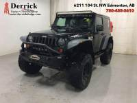 Pre-Owned 2010 Jeep Wrangler Used 4X4 Rubicon Manual Hard Top Alloys $184 B/W