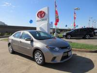 Used 2016 Toyota Corolla LE Sedan FWD For Sale in Houston