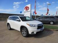 Used 2015 Toyota Highlander XLE V6 SUV FWD For Sale in Houston