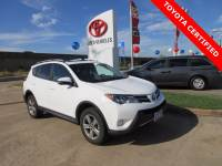 Used 2015 Toyota RAV4 XLE SUV FWD For Sale in Houston