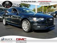 Pre-Owned 2015 AUDI A4 PREMIUM Front Wheel Drive FrontTrak Sedan