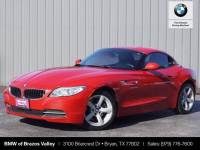 Certified Pre-Owned 2014 BMW Z4 sDrive28i RWD Convertible