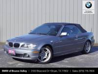 Pre-Owned 2006 BMW 3 Series 330Ci RWD Convertible