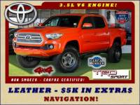 2016 Toyota Tacoma TRD Sport Double Cab 4x4 - $5K EXTRA$ - LEATHER!