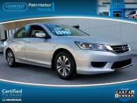 Certified 2014 Honda Accord LX Sedan in Tampa FL