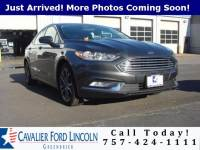 2017 Ford Fusion SE Sedan I4 16V GDI DOHC Turbo