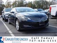 2015 Lincoln MKZ Sedan I4 16V GDI DOHC Turbo