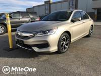 2016 Honda Accord LX Sedan I4 DOHC i-VTEC 16V
