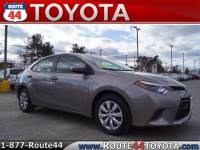Used 2015 Toyota Corolla LE Sedan FWD in Raynham MA