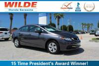 Certified Pre-Owned 2014 Honda Civic 4dr CVT LX FWD 4dr Car