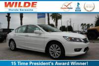 Certified Pre-Owned 2015 Honda Accord 4dr I4 CVT EX-L FWD 4dr Car