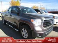 Used 2015 Toyota Tundra SR 4.6L V8 Truck Double Cab For Sale in Albuqerque, NM