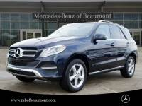 Certified Pre-Owned 2017 Mercedes-Benz GLE 350 Rear Wheel Drive SUV