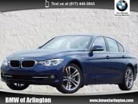 Used 2017 BMW 330i Sedan i w/South Africa Sedan Rear-wheel Drive in Arlington
