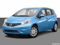 2014 Nissan Versa Note S Hatchback Front-wheel Drive