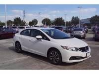 Certified Pre-Owned 2014 Honda Civic Sedan EX in Houston, TX